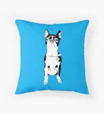 My mates, mates dog... Throw Pillow