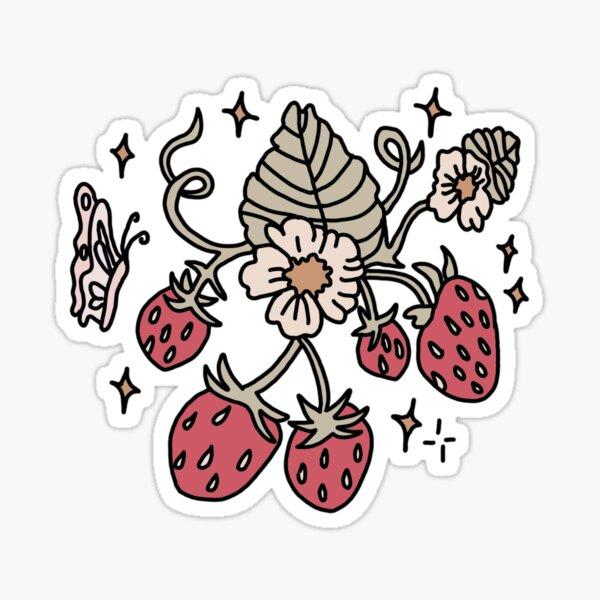 Strawberries!  Sticker