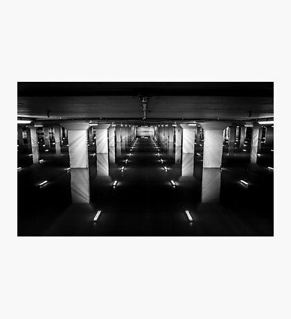 Carpark Photographic Print