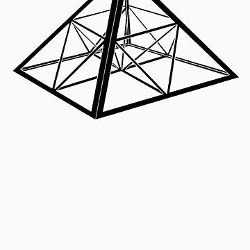 Sierpinski Pyramid by Lewis-Morris