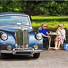Classic Car at Lytham Hall by Alan Robert Cooke