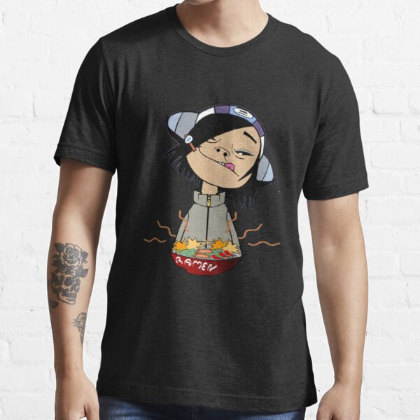 Fideos ramen Gorillaz Camiseta esencial
