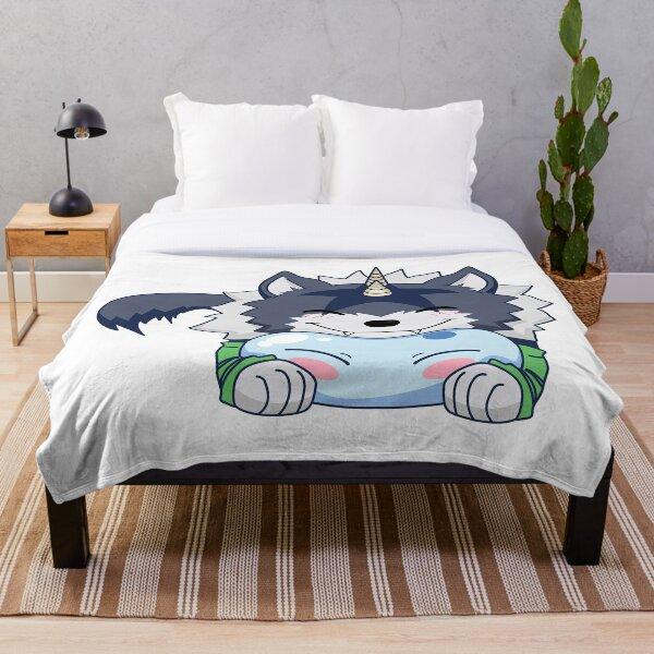 Ranga Rimuru Chibi Throw Blanket