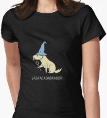 Labrador pun Women's Fitted T-Shirt