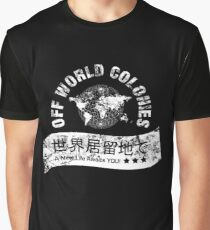 Blade Runner Off World Colonies Graphic T-Shirt