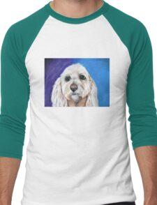 """""""Chewbacca"""" the best fishing buddy.  Men's Baseball ¾ T-Shirt"""