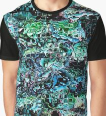 Turquoise Garden of Glass Graphic T-Shirt