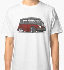 VW T1 Microbus cartoon black/red Classic T-Shirt