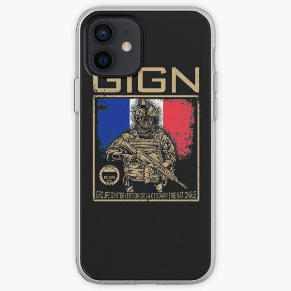 Groupe d'intervention de la gendarmerie nationale du GIGN Coque souple iPhone