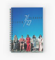 Cuaderno de espiral Fifth Harmony The 7/27 Tour 2016 HARTA4