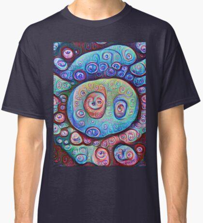 #DeepDream Ice 5x5K v1450338773 Classic T-Shirt