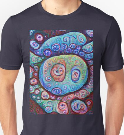 #DeepDream Ice 5x5K v1450338773 T-Shirt