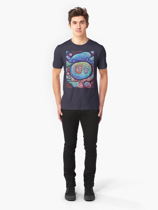 Alternate view of #DeepDream Ice Slim Fit T-Shirt