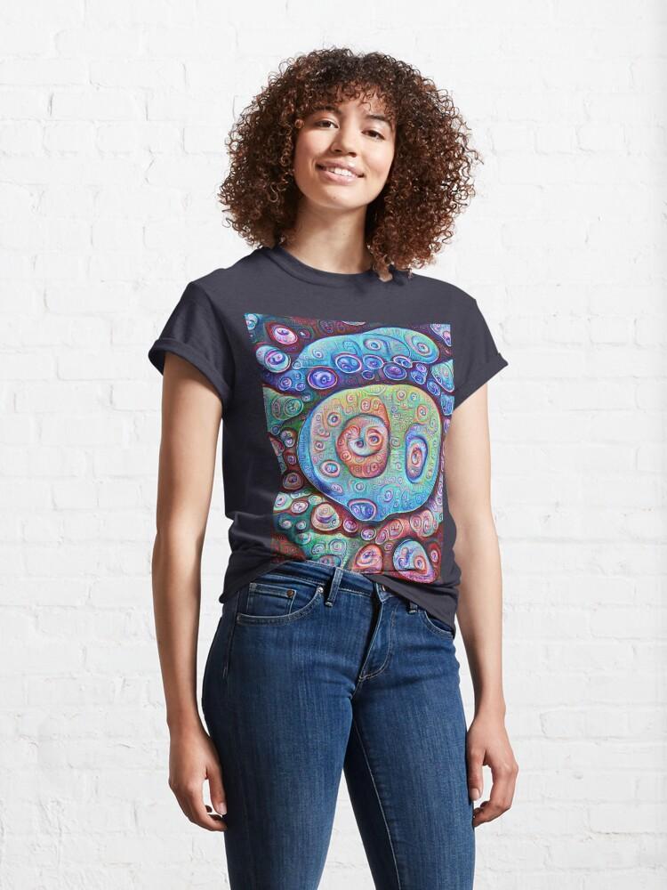 Alternate view of #DeepDream Ice Classic T-Shirt