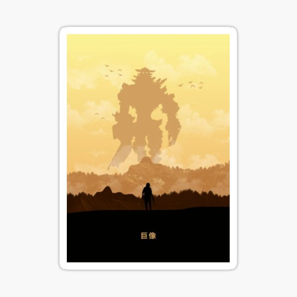 Shadow of the Colossus Sticker