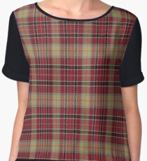 02761 St. Joseph County, Indiana  Fashion Tartan  Women's Chiffon Top