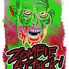 Funky Zombie Attack by Matt Corrigan