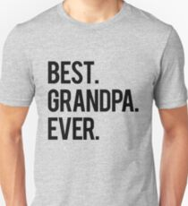 Best Grandpa T-Shirt