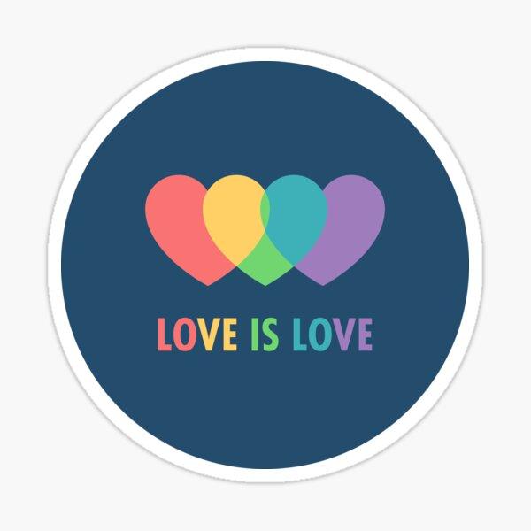 Love Is Love (Blue) Sticker