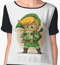 The Legend Of Zelda Women's Chiffon Top