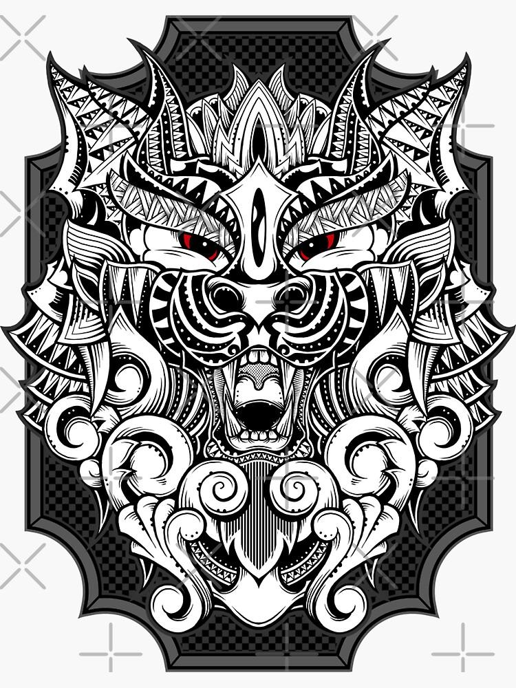Maorian Wolf by GODZILLARGE