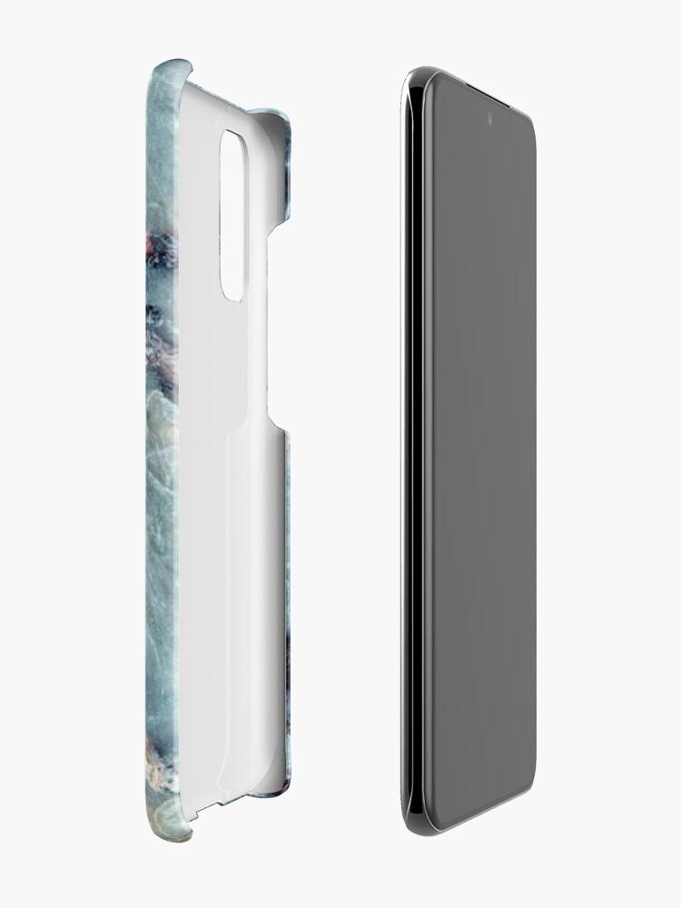 Alternate view of marble stone  Case & Skin for Samsung Galaxy
