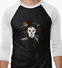 Masked Chaos Men's Baseball ¾ T-Shirt