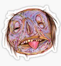 Rotten Head - Putrid Purple Sticker