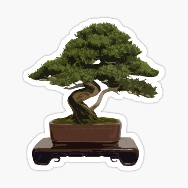 Bonsai Sticker
