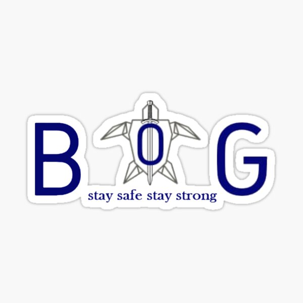 stay safe stay strong Rise of empire logo Pegatina