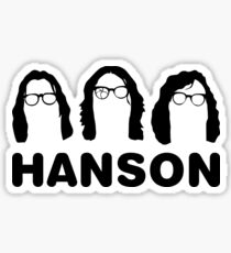 Hanson - The Slap Shot ones. Sticker