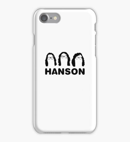 Hanson - The Slap Shot ones. iPhone Case/Skin