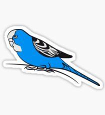 budgie bird Sticker