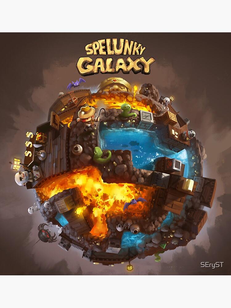Spelunky Galaxy by SEryST
