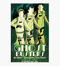 Deco Ghostbusters Photographic Print