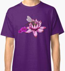 Dragonfly Lotus  Classic T-Shirt