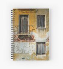 Shuttered Spiral Notebook