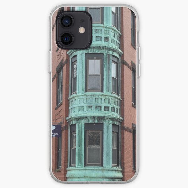 boston building iPhone Soft Case