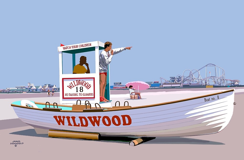 Wildwood By the Sea by James & Laura Kranefeld