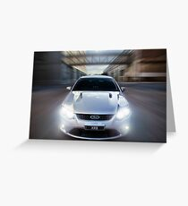 Ford Falcon XR8 Greeting Card