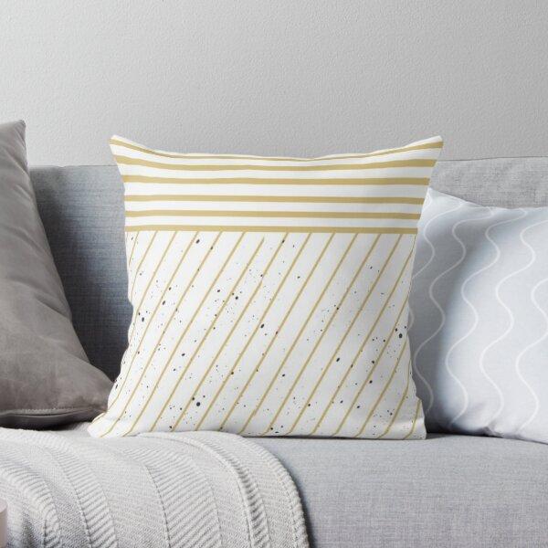 Uneven Pattern Throw Pillow