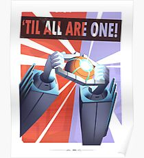 "Transformers - ""TIL ALL ARE ONE!"" Poster"