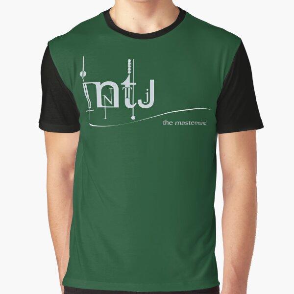 INTJ - The Mastermind/ MBTI Logo Graphic T-Shirt