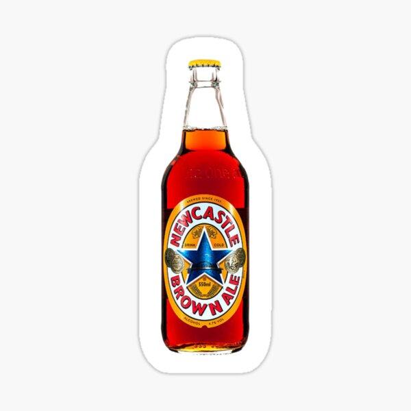 newcastle brown ale sticker Sticker