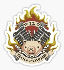 Hog Power Sticker
