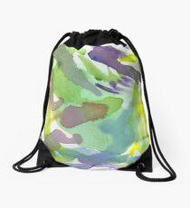 Splattery Drawstring Bag
