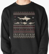 Shark Ugly Christmas Sweater Pullover