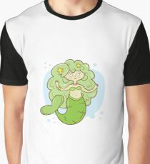 Mermaid. Graphic T-Shirt