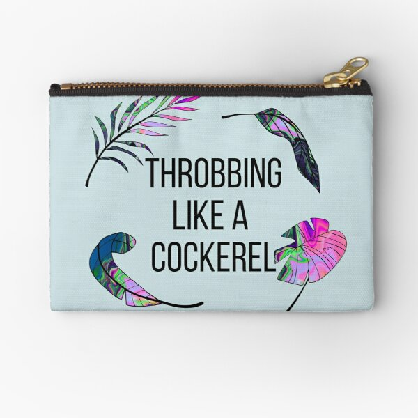 COCKEREL - Funny Bag Translation English Error Zipper Pouch