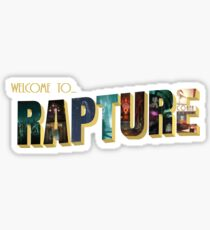 Welcome to Rapture Sticker